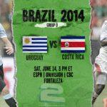 دانلود بازی اوروگوئه و کاستاریکا Uruguay vs Costa Rica World Cup 2014