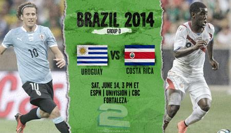 Uruguay vs Costa Rica World Cup 2014 | تاپ 2 دانلود