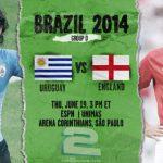 دانلود بازی اوروگوئه و انگلیس Uruguay vs England World Cup 2014