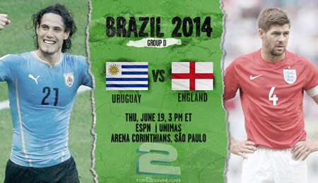 Uruguay vs England World Cup 2014 | تاپ 2 دانلود