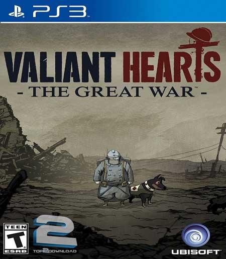 PS3 Valiant Hearts The Great War
