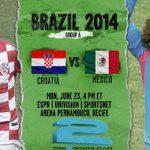 دانلود بازی کرواسی و مکزیک croatia vs mexico world cup 2014