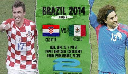 croatia vs mexico world cup 2014 | تاپ2دانلود