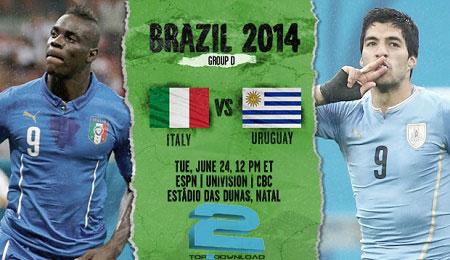uruguay vs italy world cup 2014   تاپ2دانلود