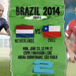دانلود بازی هلند و شیلی Netherlands vs.Chile world cup2014