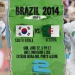 دانلود بازی کره جنوبی و الجزایر South Korea vs. Algeria world cup 2014