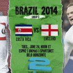 دانلود بازی کاستاریکا و انگلیس england vs costa rica CUP 2014