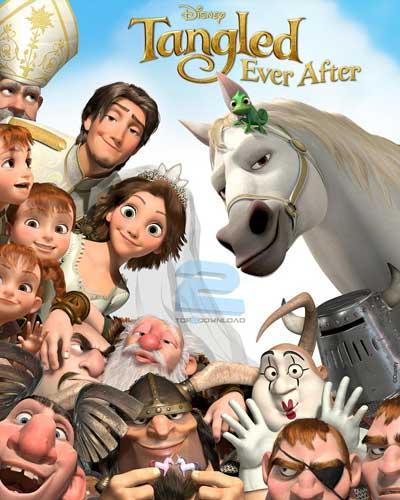 دانلود دوبله فارسی انیمیشن عروسی گیسو کمند Tangled Ever After | تاپ 2 دانلود