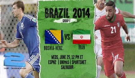 world-cup-bosnia-herzegovina-iran