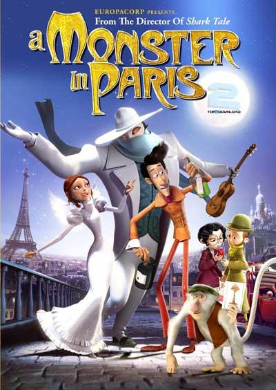 دانلود دوبله فارسی انیمیشن هیولایی در پاریس A Monster in Paris | تاپ 2 دانلود