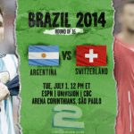 دانلود بازی آرژانتین و سوئیس Argentina vs Switzerland World Cup 2014