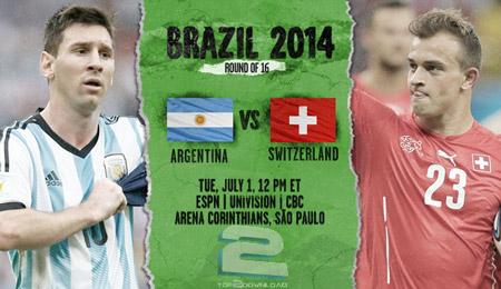 Argentina vs Switzerland World Cup 2014 | تاپ 2 دانلود