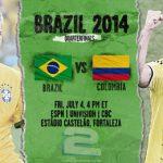 دانلود بازی برزیل و کلمبیا Brazil vs Colombia World Cup 2014