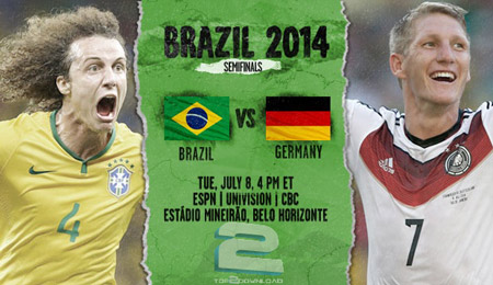Brazil vs Germany World Cup 2014 | تاپ 2 دانلود