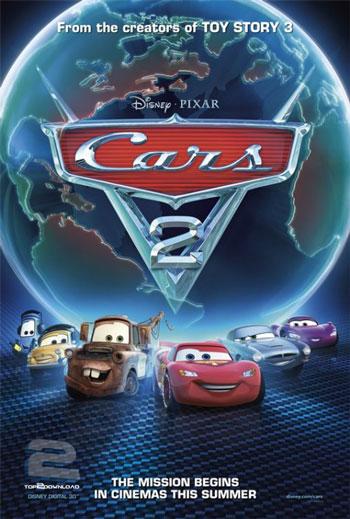 دانلود دوبله فارسی انیمیشن ماشین ها 2 Cars 2 | تاپ 2 دانلود
