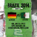 دانلود بازی آلمان و الجزایر Germany vs Algeria World Cup 2014