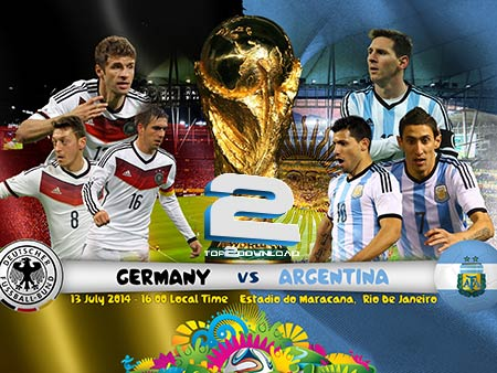 Germany vs Argentina World Cup 2014 | تاپ 2 دانلود