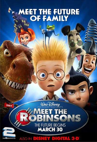 دانلود دوبله فارسی انیمیشن ملاقات با خانواده رابینسون Meet the Robinsons | تاپ 2 دانلود