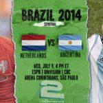 دانلود بازی هلند و آرژانتین Netherlands vs Argentina World Cup 2014