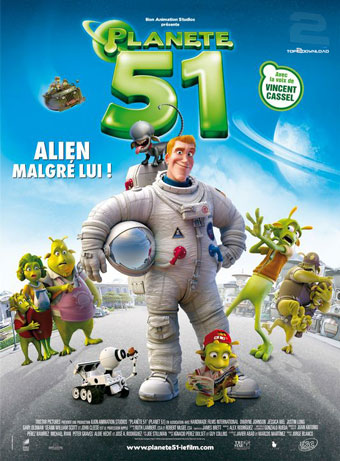 دانلود دوبله فارسی انیمیشن سیاره 51 Planet 51 | تاپ 2 دانلود