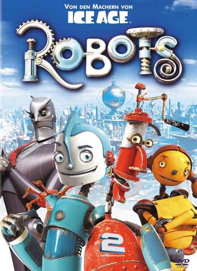 دانلود دوبله فارسی انیمیشن ربات ها Robots | تاپ 2 دانلود