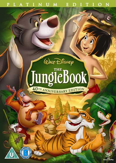 دانلود دوبله فارسی انیمیشن کتاب جنگل The Jungle Book | تاپ 2 دانلود