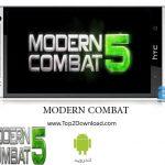 دانلود بازی اکشن Modern Combat 5:BlackOut 1.0.1c اندروید