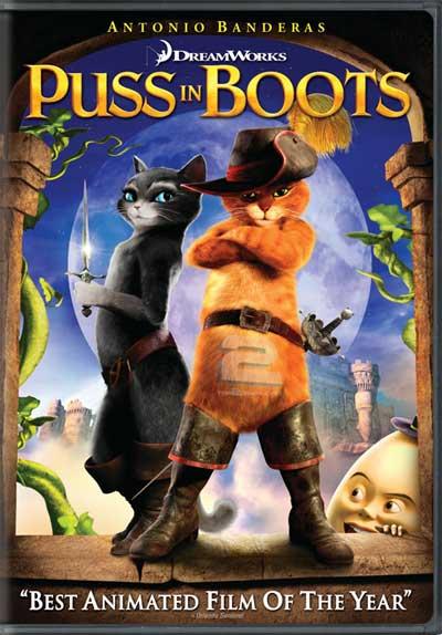 دانلود دوبله فارسی انیمیشن گربه چکمه پوش Puss in Boots | تاپ 2 دانلود