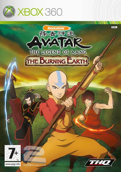 Avatar The Last Airbender The Burning Earth | تاپ 2 دانلود