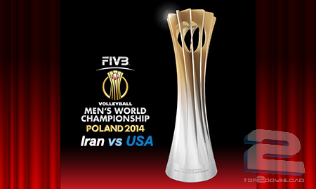 Iran vs USA Volleyball World Cup 2014 | تاپ 2 دانلود