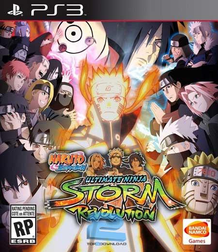 Naruto Shippuden Ultimate Ninja Storm Revolution | تاپ 2 دانلود