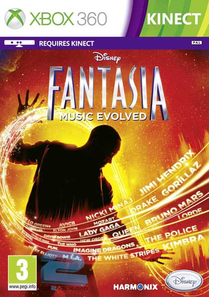 Disney Fantasia Music Evolved | تاپ 2 دانلود