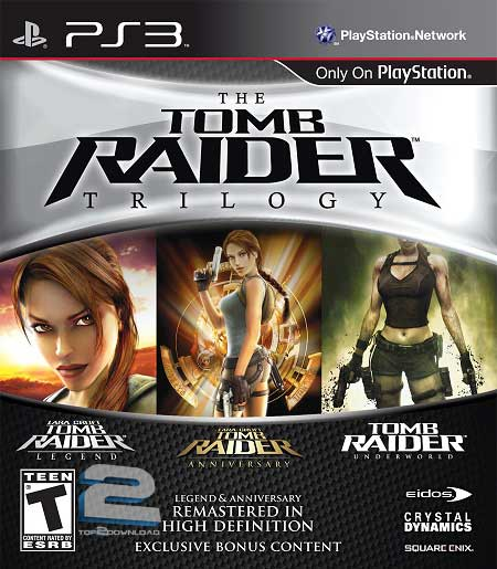 The Tomb Raider Trilogy | تاپ 2 دانلود
