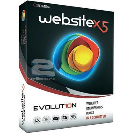 Incomedia Website X5 | تاپ 2 دانلود