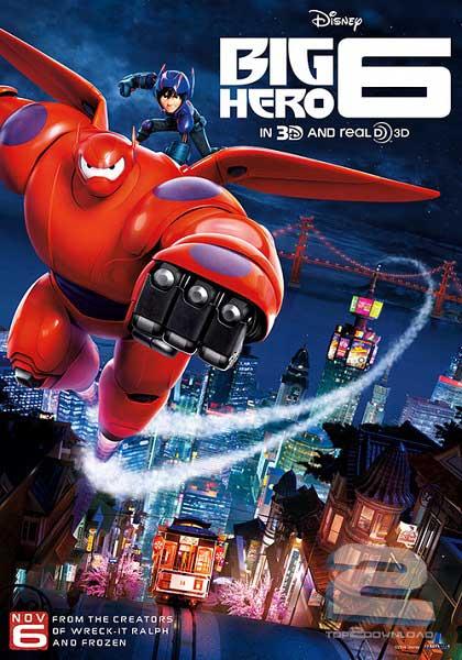 Big Hero 6 2014 | تاپ 2 دانلود