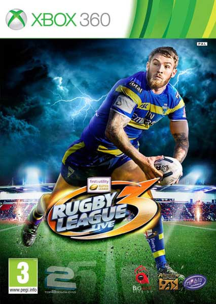 Rugby League Live 3   تاپ 2 دانلود