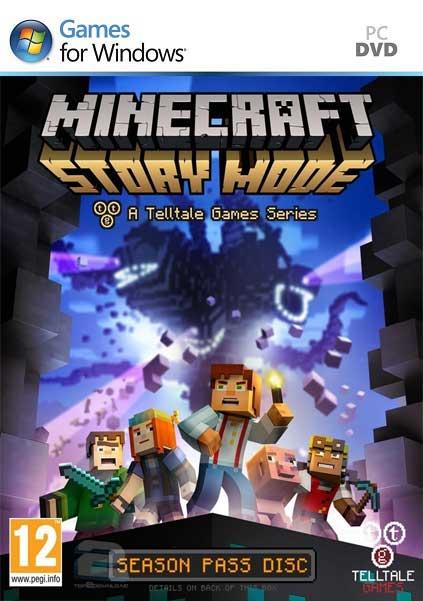 Minecraft Story Mode   تاپ 2 دانلود