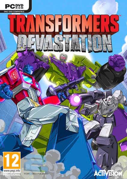 نتیجه تصویری برای دانلود بازی Transformers Devastation برای PC