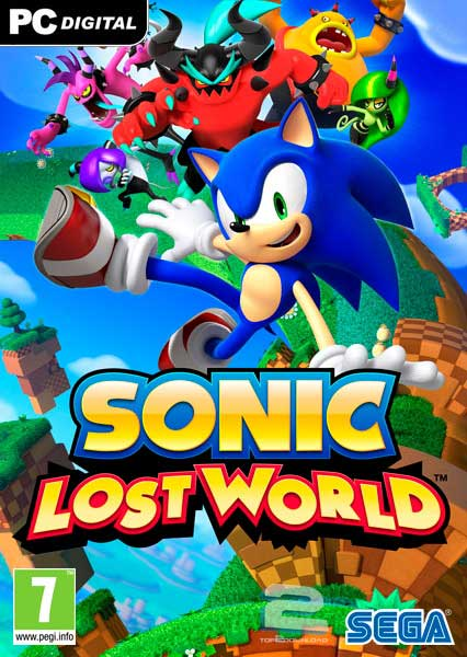 Sonic Lost World | تاپ 2 دانلود