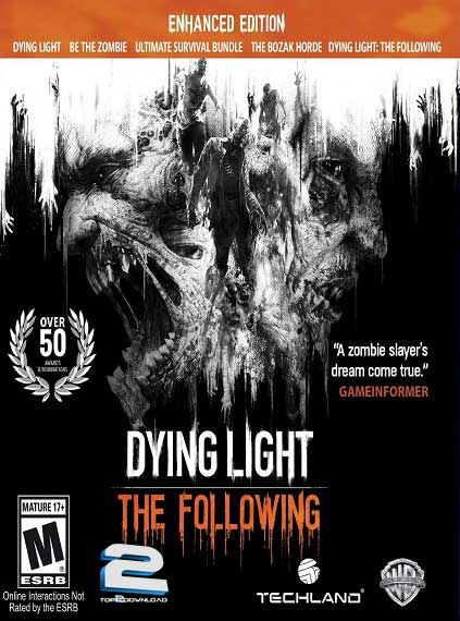 Dying Light The Following Enhanced Edition | تاپ 2 دانلود