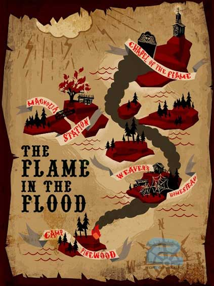 The Flame in the Flood | تاپ 2 دانلود