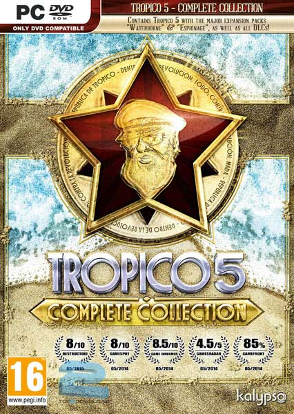 Risultati immagini per ‫دانلود بازی Tropico 5 Complete Collection برای PC‬‎