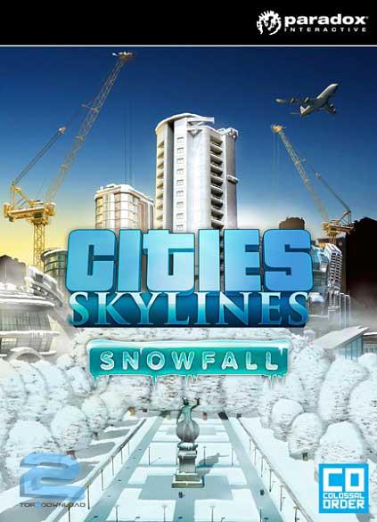 Risultati immagini per دانلود بازی Cities Skylines Snowfall برای PC