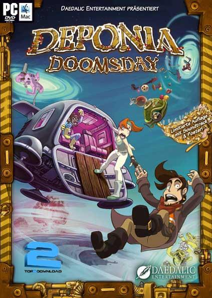 نتیجه تصویری برای دانلود بازی Deponia Doomsday برای PC