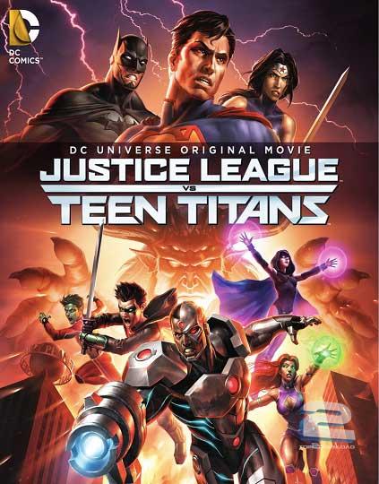 Justice League vs Teen Titans 2016 | تاپ 2 دانلود