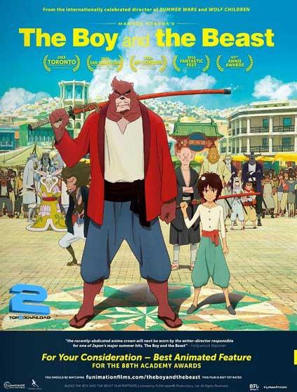 The Boy and the Beast 2015 | تاپ 2 دانلود