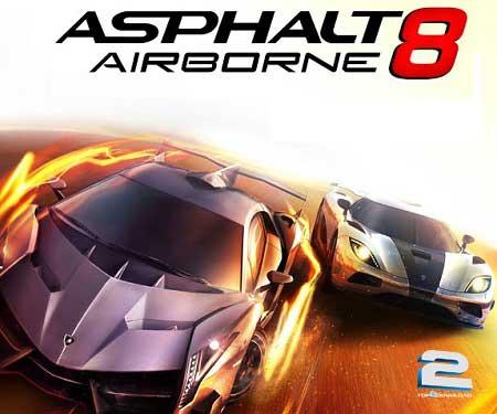 Asphalt 8 Airborne | تاپ 2 دانلود
