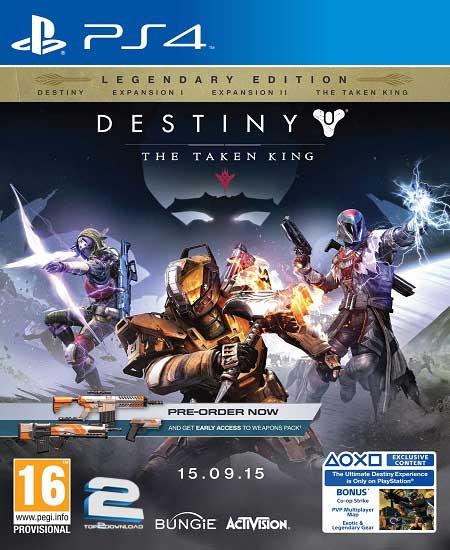 Destiny | تاپ 2 دانلود