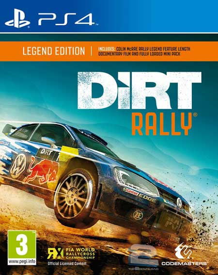 DiRT Rally | تاپ 2 دانلود