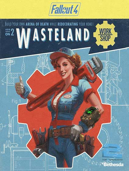 Fallout 4 Wasteland Workshop DLC | تاپ 2 دانلود